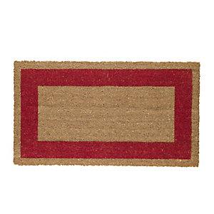 VELCOC Zerbino Cocco - fondo in vinile - 45x80 cm - rosso - Velcoc