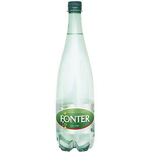 FONT VELLA Agua mineral con gas, botella de plástico