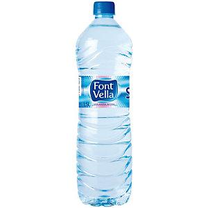 FONT VELLA Agua mineral natural 1,5 l