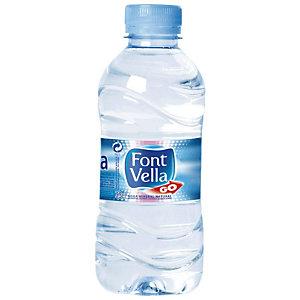 FONT VELLA Agua mineral natural 33 cl