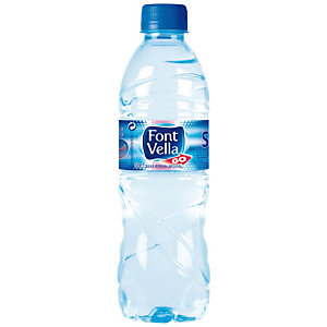 FONT VELLA Agua mineral natural 50 cl