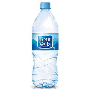 FONT VELLA Agua mineral sin gas, botella de plástico