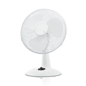 Ventilatore da tavolo 3 pale Bianco 40, Altezza max 130 cm