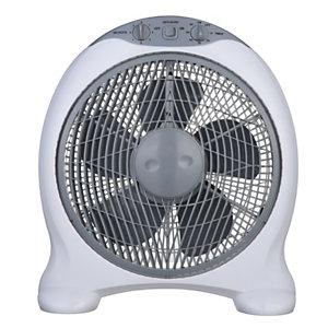 Ventilatore a mobiletto da tavolo, 50 W, Bianco