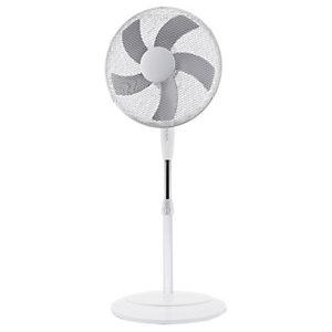 Ventilatore a piantana Bianco 40, Altezza max 130 cm