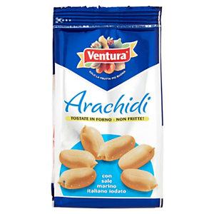 Ventura Arachidi tostate con sale marino, confezione da 125 g