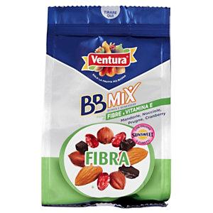 Ventura BB Mix Fibra, frutta secca sgusciata, cranberry, prugne, Confezione 150 g