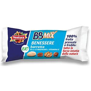 Ventura Bio Barretta BBMix Benessere, 35 g (confezione 24 pezzi)