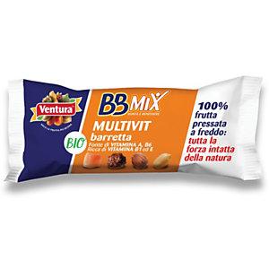 Ventura Bio Barretta BBMix Multivit, 35 g (confezione 24 pezzi)