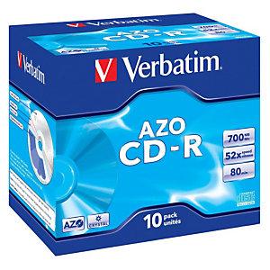 Verbatim CD-R 700MB 52X Carcasa protectora