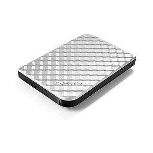 Verbatim Disque dur portable USB Store 'n' Go 3.0, 1 To, Argenté, 1000 Go, 3.2 Gen 1 (3.1 Gen 1), 5400 tr/min, Argent 53197