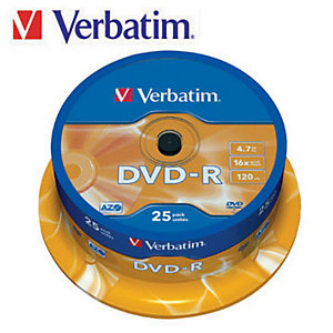 Verbatim DVD-R 4,7 GB 16x Spindle