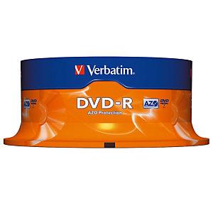Verbatim DVD-R - 4,7GB - 16X - Spindle 25