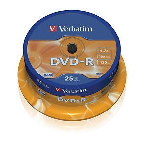 Verbatim DVD-R 4,7GB 16X Torre