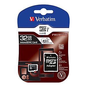 Verbatim - Micro SDHC Classe 10 fino a 45mb/sec - 44083 - 32GB