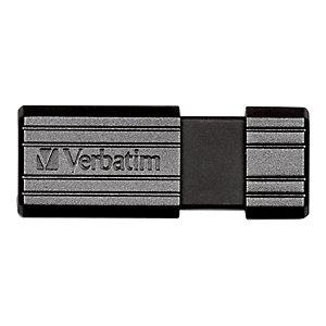 Verbatim Pen drive PinStripe, USB 2.0, 64 GB, Nero