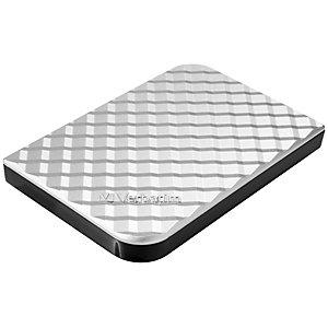 Verbatim Store 'n' Go Disco duro portátil USB 3.0, 1 TB, plateado