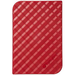 Verbatim Store 'n' Go Disco duro portátil USB 3.0, 1 TB, rojo