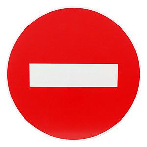 Verbodsbord verboden richting Ø 30 cm.