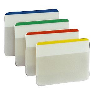 Verdeler van 24 indexen Post-it® Strong  breedte 50 mm geassorteerde klassieke kleuren