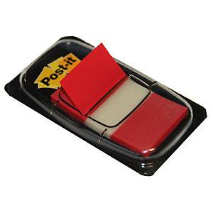 Verdeler van 50 indexen Post-it®  breedte 25 mm kleur rood