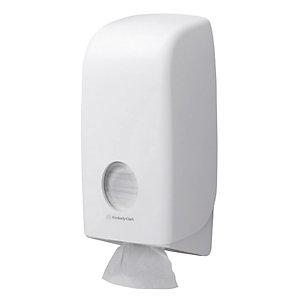 Verdeler van toiletpapier in pakjes Aquarius