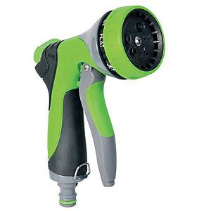 Verdemax Pistola a doccia per irrigazione - in alluminio - 7 getti - Verdemax