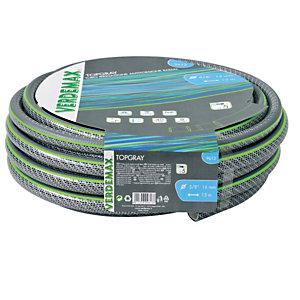 Verdemax Tubo per irrigazione TopGray 5 - 5/8'' - 25 metri - Verdemax