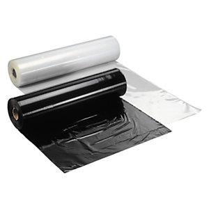 Verpakkingsfolie of beschermfolie op rol, transparant of zwart