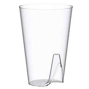 Verres cristal LUX by Starck, en plastique transparent, 20 cl, colis de 25 verres