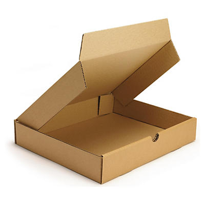Boîte postale brune en carton RAJAPOST format DIN A4##Versandkarton Flach-Pack, braun