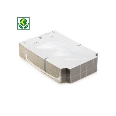 Versandkarton Flach-Pack DIN A4, weiß
