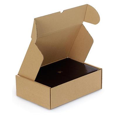 Boîte postale brune en carton Rigibox##Versandkarton Rigibox