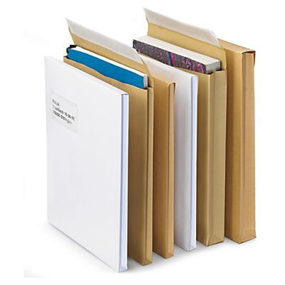 Versandtaschen mit Seitenfalten