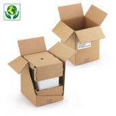 Versandverpackung für 6er-Karton Weinflaschen