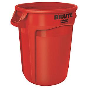 Verzamelbak 120 L rood