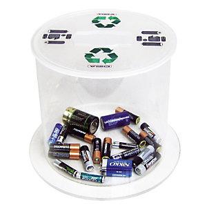 Verzamelbak voor lege batterijen