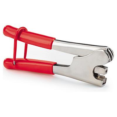 Pince à plomber pour scellé plastique écrasable##Verzegeltang voor aanrijgzegel van plastic
