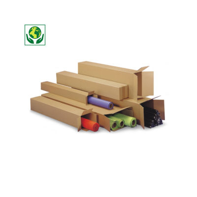 Caisse carton Teckelbox simple cannelure##Verzenddoos Teckelbox