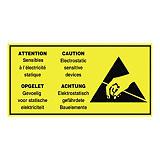 Verzendetiket voor antistatische producten