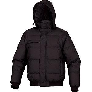 Veste sweat grise à capuche, Delta Plus, taille XL