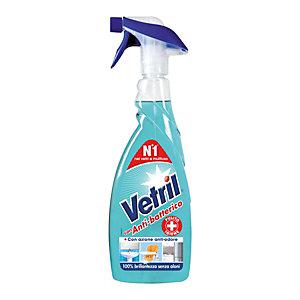 VETRIL Detergente MultiSuperficie Igienizzante Flacone con nebulizzatore 650 ml