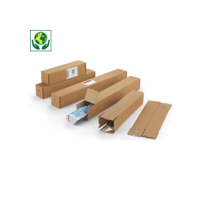 Vierkante koker met zelfklevende sluiting