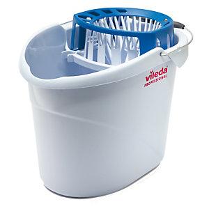 VILEDA Secchio da 10 litri + Strizzatore Mocio Professional - Vileda