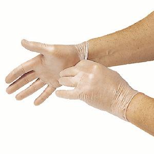 Vinyl handschoenen poedervrij maat M, doos van 100