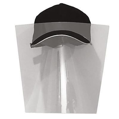 Visière et casquette de protection - le lot de 10