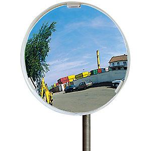 Visiom\<3Registered\> verkeersspiegel, onbreekbaar Ø 80 cm.