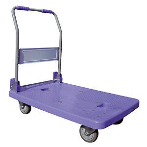 VISO Chariots polypropylène petit plateau 150 kg