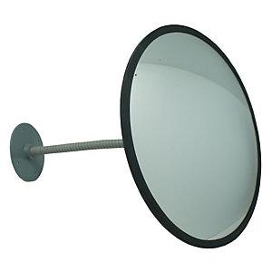 VISO Miroir de surveillance convexe en verre, diamètre 33 cm