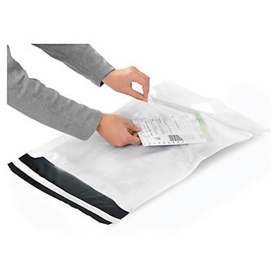 Vita e-handelspåsar